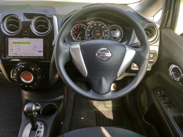 Nissan Note II Рестайлинг руль