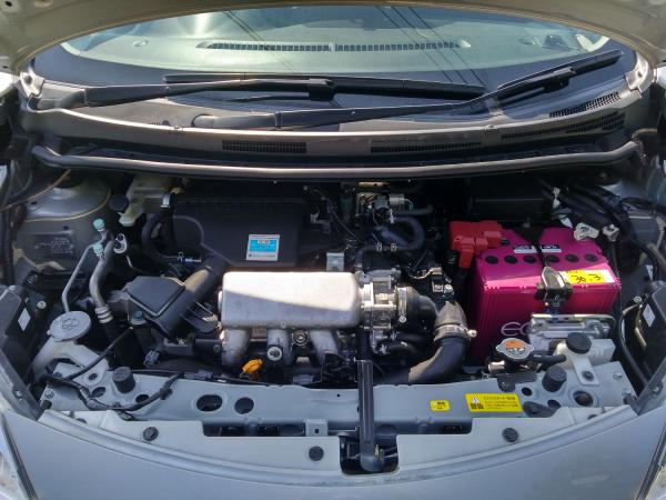 Nissan Note II Рестайлинг двигатель