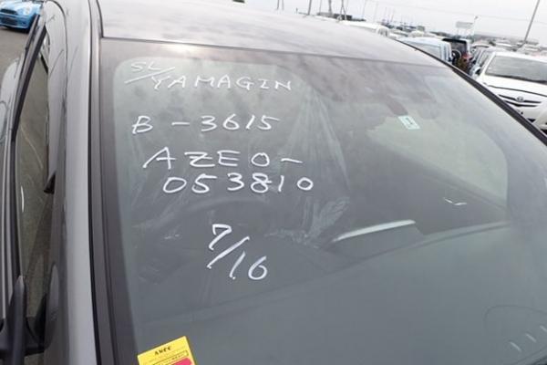 Nissan Leaf 2014 серый крыша