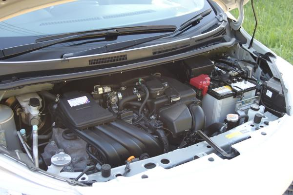 Nissan Note 2015 двигатель