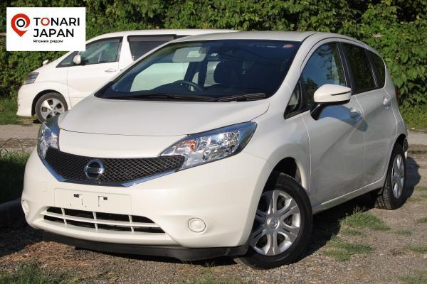 Nissan Note 2015 белый