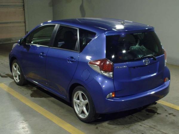 Toyota Ractis II Рестайлинг