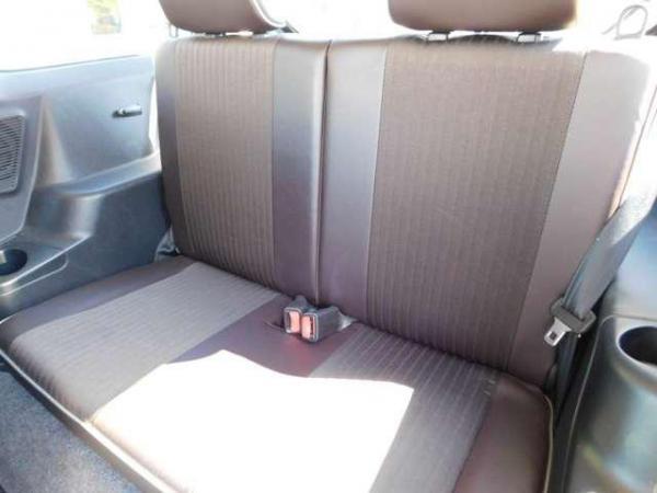 Mitsubishi Pajero Mini II Рестайлинг 2012 задние сидения