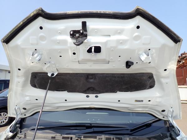 Nissan Leaf 2014 белый капот