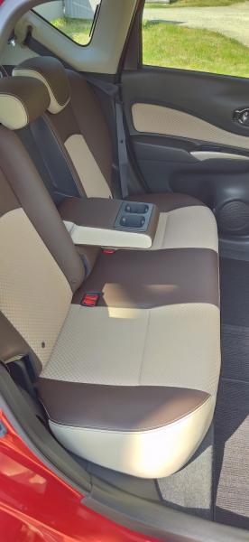 Nissan Note 2015 задние сидения