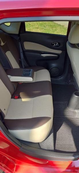 Nissan Note 2015 красный сидения