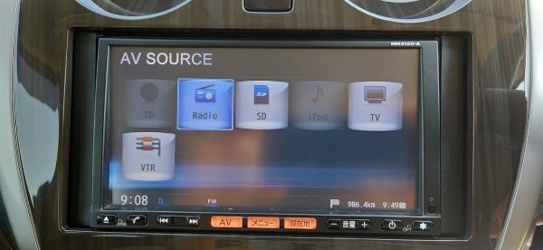 Nissan Note 2015 компьютер