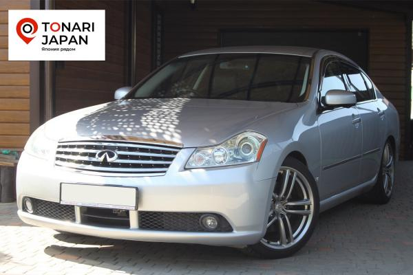 Nissan Fuga I Рестайлинг 2006 серый
