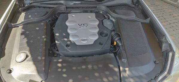 Nissan Fuga I Рестайлинг двигатель