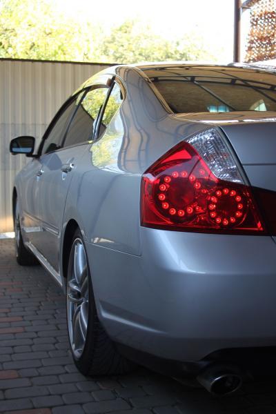Nissan Fuga 2006 серый задняя фара