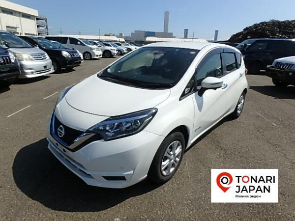 Nissan Note 2016 белый