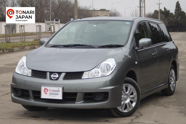 Nissan Wingroad 2016 серый