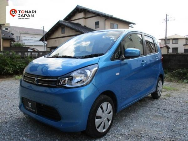 Mitsubishi eK Wagon 2015 синий