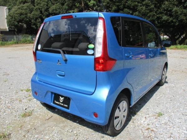 Mitsubishi eK Wagon 2015 синий зад