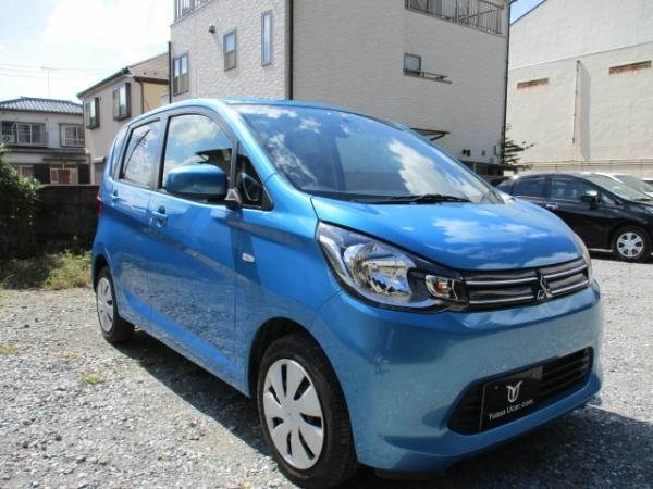 Mitsubishi eK Wagon синий