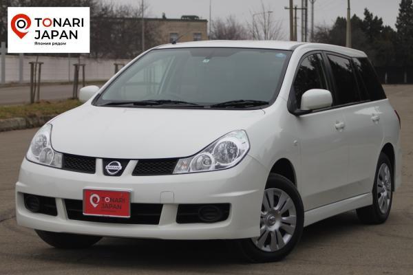 Nissan Wingroad 2016 белый