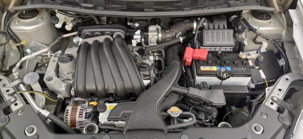 Nissan Wingroad 2017 двигатель