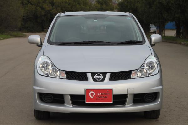 Nissan Wingroad 2017 серый вид спереди