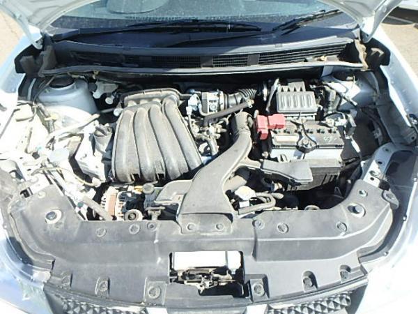 Nissan Wingroad 2017 белый двигатель