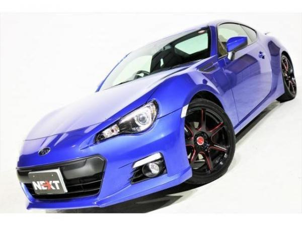 Subaru BRZ I 2016 синий