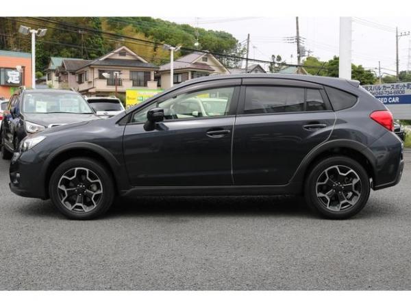 Subaru XV I Рестайлинг 2016 чёрный сбоку