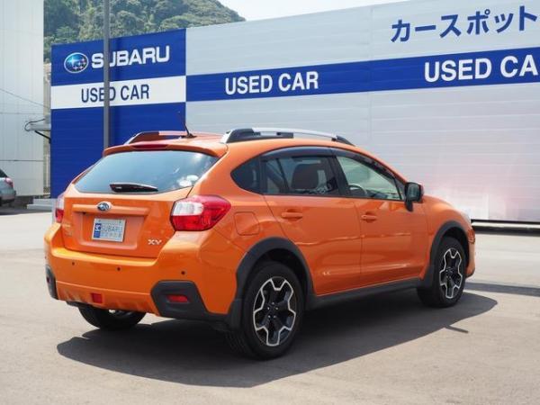 Subaru XV I Рестайлинг 2016 оранжевый сзади