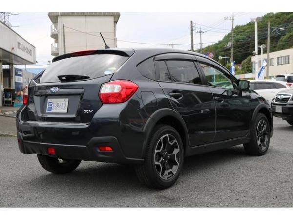 Subaru XV I Рестайлинг 2016 чёрный сзади