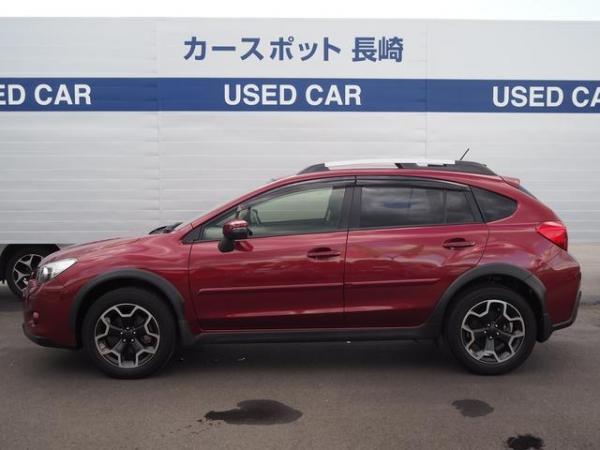 Subaru XV I Рестайлинг 2016 красный сбоку