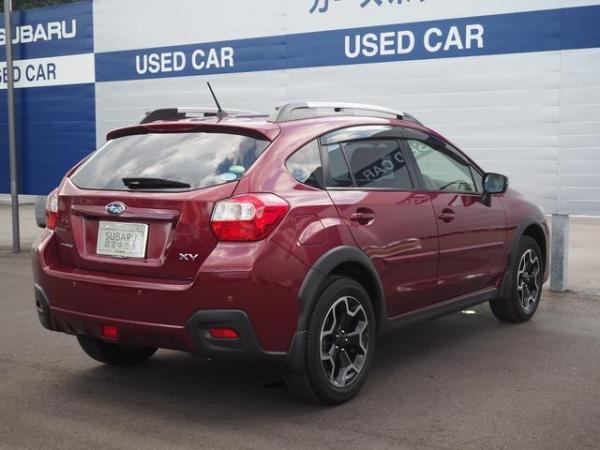 Subaru XV I Рестайлинг 2016 красный сзади