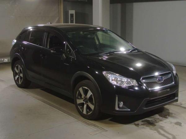 Subaru XV I Рестайлинг чёрный