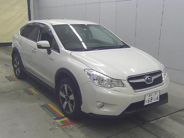Subaru XV I Рестайлинг 2016 белый