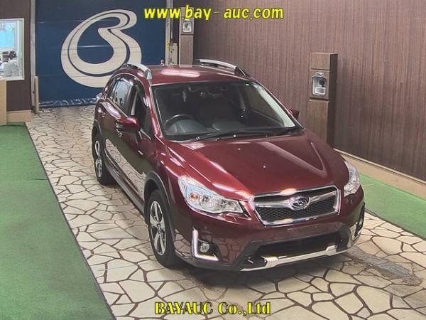 Subaru XV I Рестайлинг 2016 красный