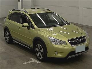 Subaru XV I Рестайлинг 2016 зелёный