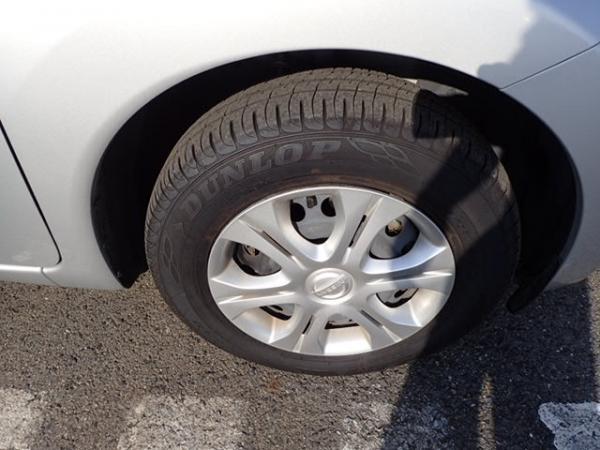 Nissan Note 2015 серый колесо