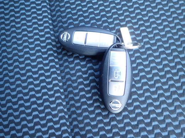 Nissan Note 2015 ключ