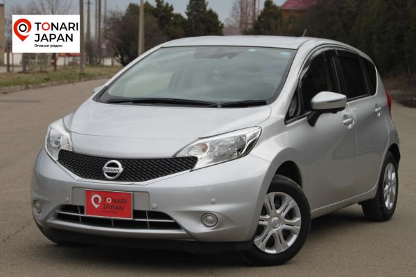 Nissan Note 2015 серый