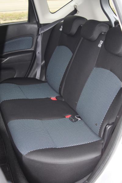 Nissan Note задние сидения