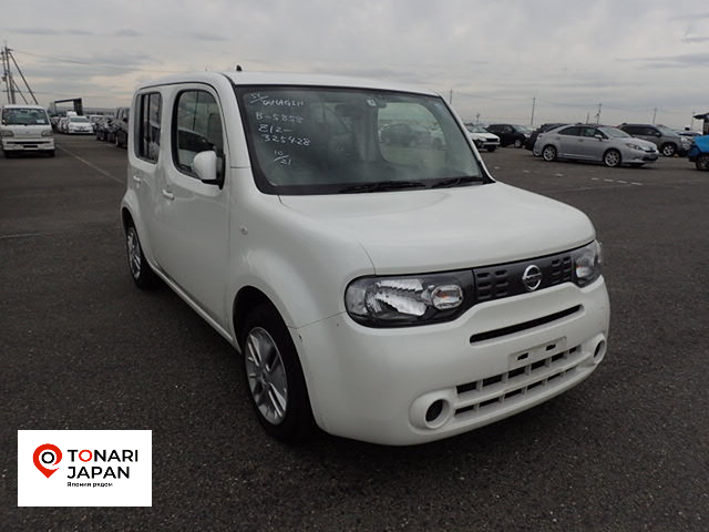 Nissan Cube 2017 белый