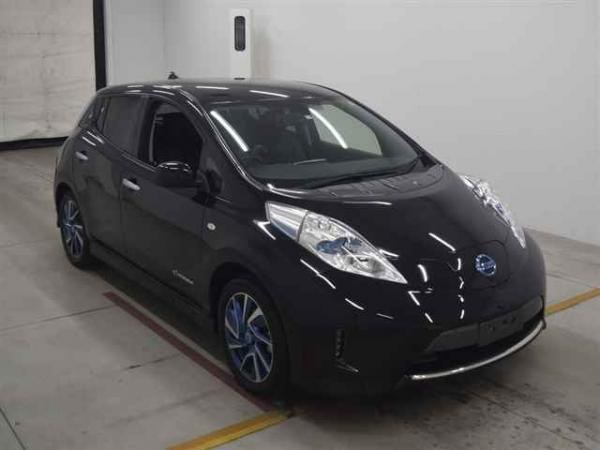 Nissan Leaf чёрный