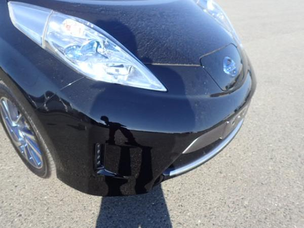 Nissan Leaf 2014 чёрный передняя фара