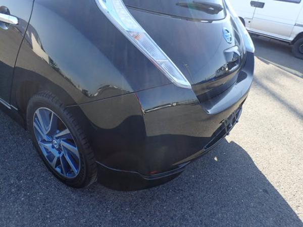 Nissan Leaf 2014 чёрный зад