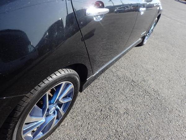 Nissan Leaf 2014 чёрный пороги