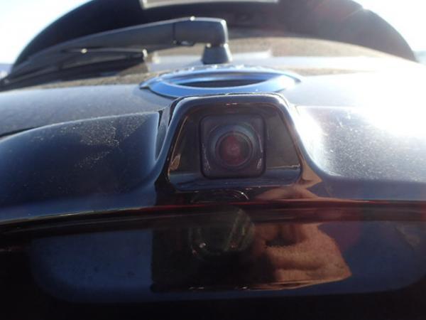 Nissan Leaf 2014 чёрный камера