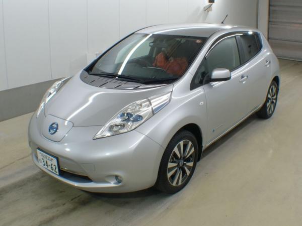 Nissan Leaf серый