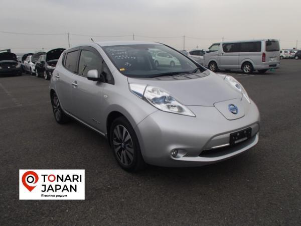 Nissan Leaf 2013 серый
