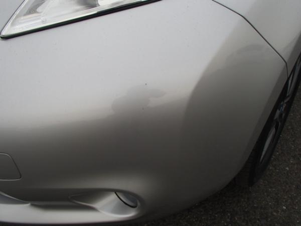 Nissan Leaf 2013 серый фара