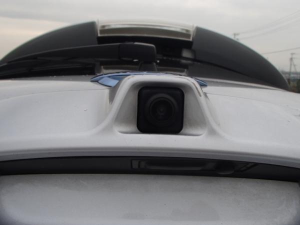 Nissan Leaf 2013 серый камера