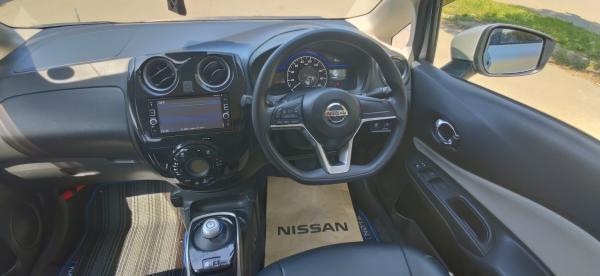 Nissan Note 2017 салон