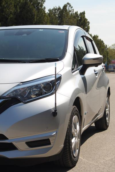 Nissan Note II Рестайлинг серый передняя фара