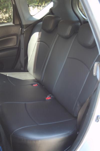 Nissan Note 2017 задние сидения